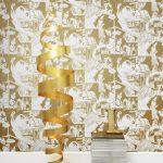 Comic book walls: True Romance wallpaper by Mini Moderns