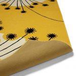 Retro-style Dandelion rug by MissPrint