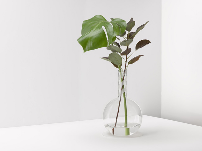 MSI + Peter Saville glass flask range