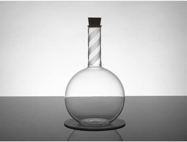 MSI + Peter Saville glass flask range