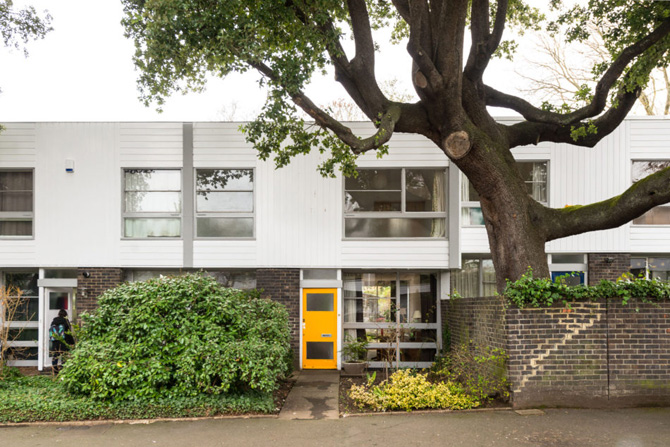 Retro house for sale: 1960s Eric Lyons-designed Span House on the Cator Estate, Blackheath, London SE3