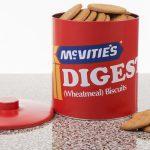 Vintage-style McVitie's biscuit tins