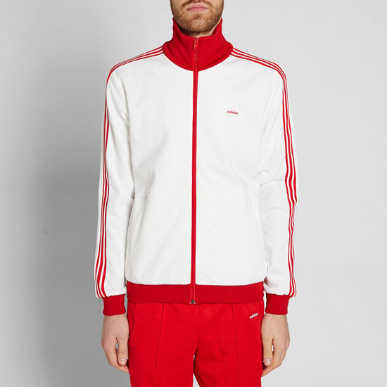 Retro sportswear: 1970s Adidas Consortium Beckenbauer tracksuit reissued