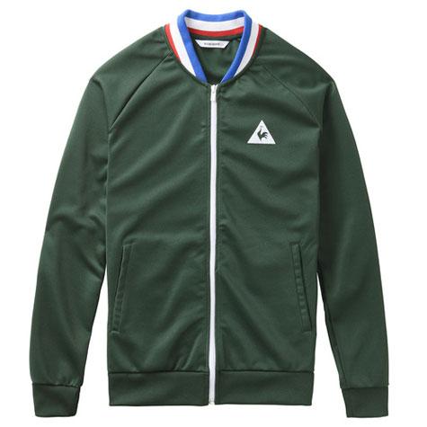 Retro sportswear: Le Coq Sportif x ASSE full zip sweatshirt