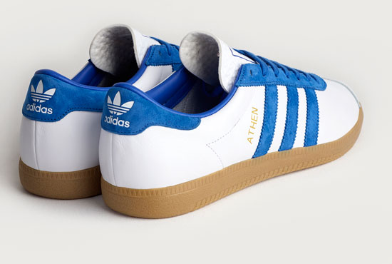 Adidas Originals Archive Athen trainers return in white leather