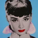 Audrey Hepburn I limited edition pop art print by David Studwell