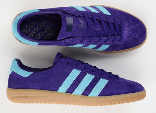 Adidas Bermuda trainers return in purple suede as a Size? exclusive