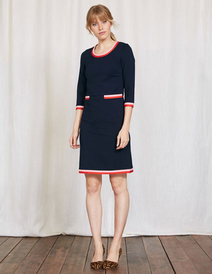 1960s-style Gloria Ponte Dress at Boden