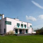 Retro house for sale: 1930s Messrs Joseph and Sir Owen Williams-designed art deco property in Great Easton, Essex