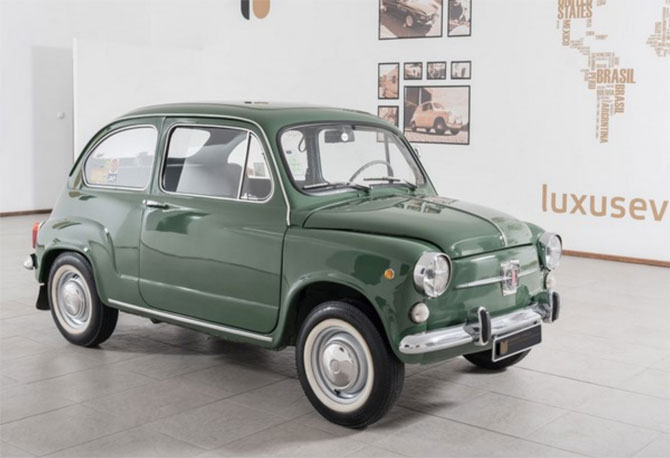 Fully restored 1972 Fiat 600d on eBay