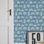 Retro gaming wallcovering by Murals Wallpaper