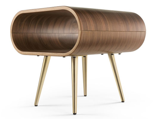 1960s-style Hooper coffee table and side table at Made