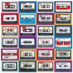 Retro Cassette Wallpaper by Horace Panter Art