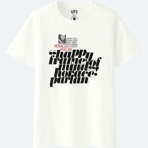 Blue Note jazz t-shirts at Uniqlo