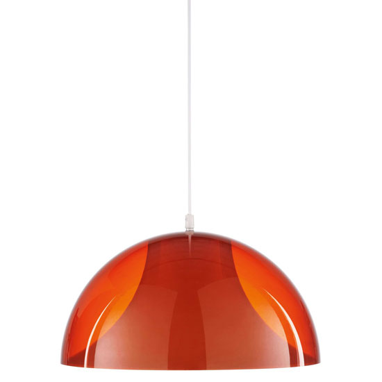 Pop space age pendant light at Maisons Du Monde