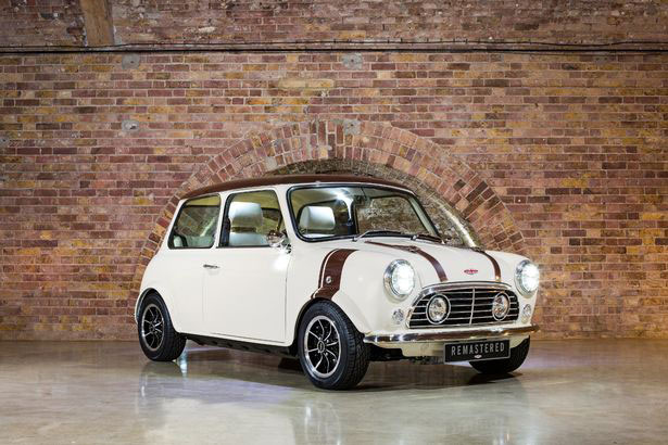 An icon returns: The Classic Mini by David Brown Automotive