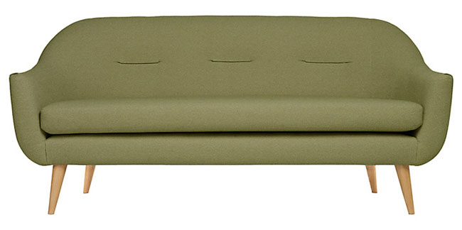 Content by Terence Conran retro-style Marlowe sofa