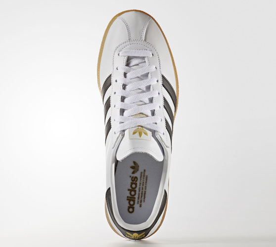 1970s Adidas München trainers reissue in white leather