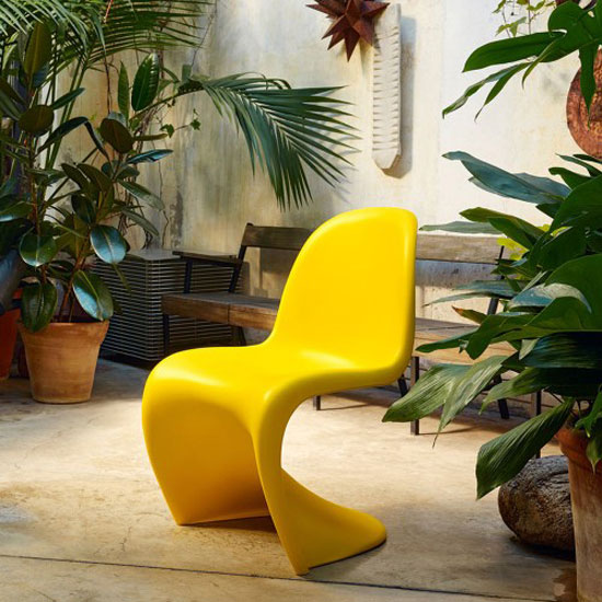 1960s Vitra Panton Chair gets a limited edition sunlight finish