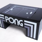 Kickstarter project: Atari Pong coffee table