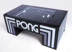 Kickstarter project: Atari Pong coffee table