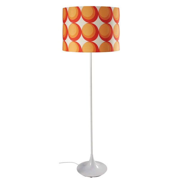 1970s-style Pulp floor lamp at Maisons Du Monde