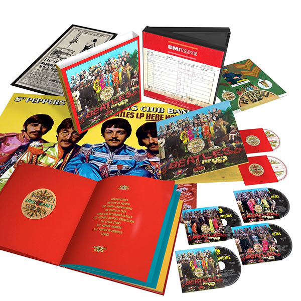 The Beatles - Sgt. Pepper's Lonely Hearts Club Band 50th anniversary box set