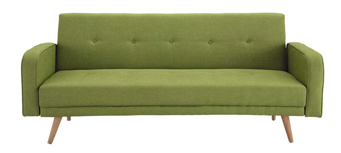 Broadway midcentury-style sofa bed at Maisons Du Monde