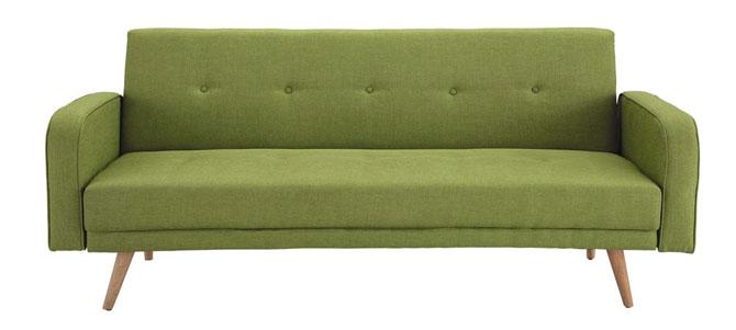Broadway midcentury-style sofa bed at Maisons Du Monde