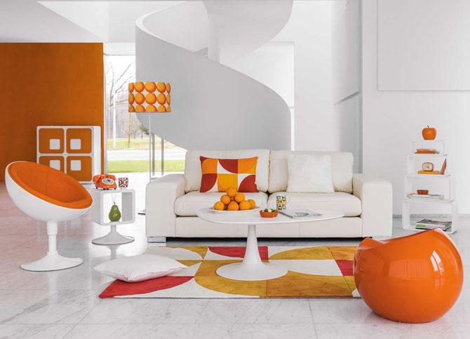 Soucoupe space age armchair at Maisons Du Monde