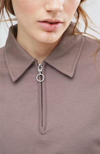 Sale spotting: Retro-style zip sweatshirt at ASOS