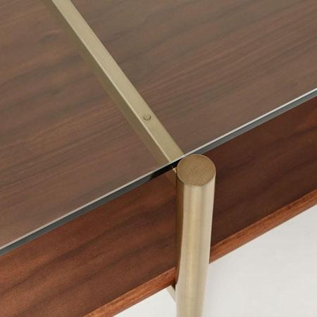 Midcentury-style Art Display Coffee Table at West Elm