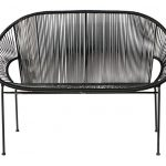 Copacabana retro outdoor benches at Maisons Du Monde