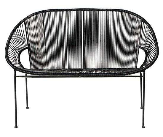 copacabana retro outdoor benches at maisons du monde. Black Bedroom Furniture Sets. Home Design Ideas