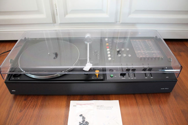 1970s Braun Audio 400S hi-fi system on eBay