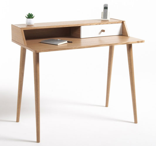 Midcentury-style Clairoy desk at La Redoute