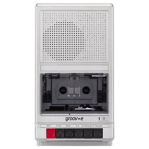 Old school audio: Groov-e Retro Series cassette player and recorder