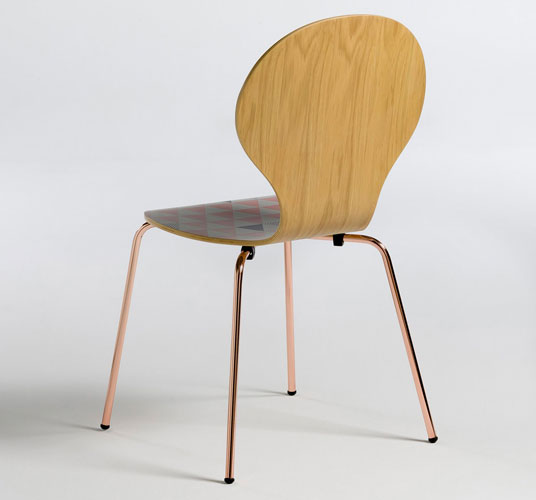 Retro-style Elori Printed Chairs at La Redoute