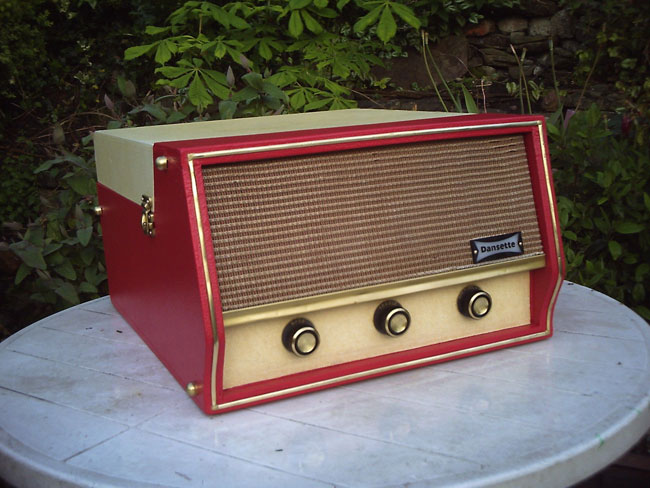 Original 1960s Dansette Conquest Auto record player on eBay