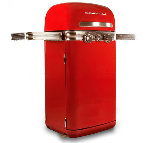 Memphis 1950s-style gas barbecue returns