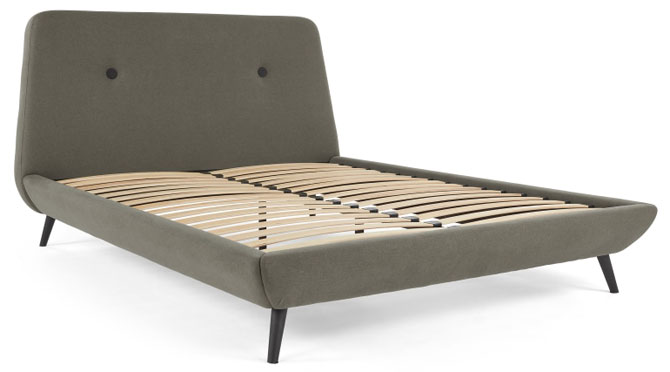 1960s-style Edwin bed at Made