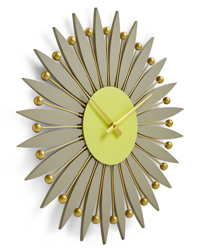 George Nelson-inspired Flower Wall Clock at Marks and Spencer