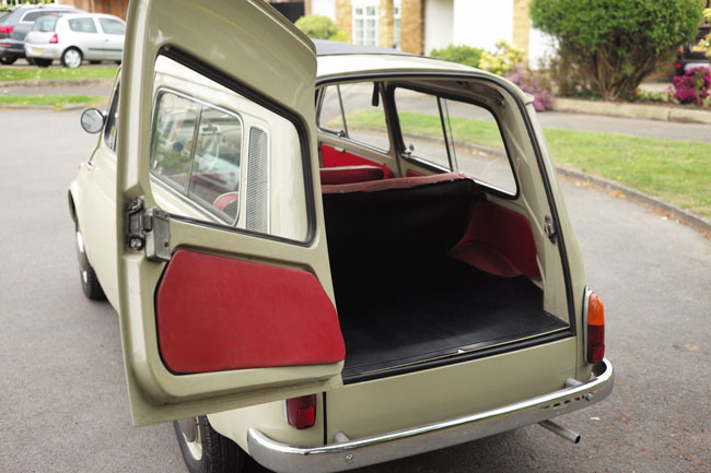 1962 Fiat 500 Giardiniera on eBay