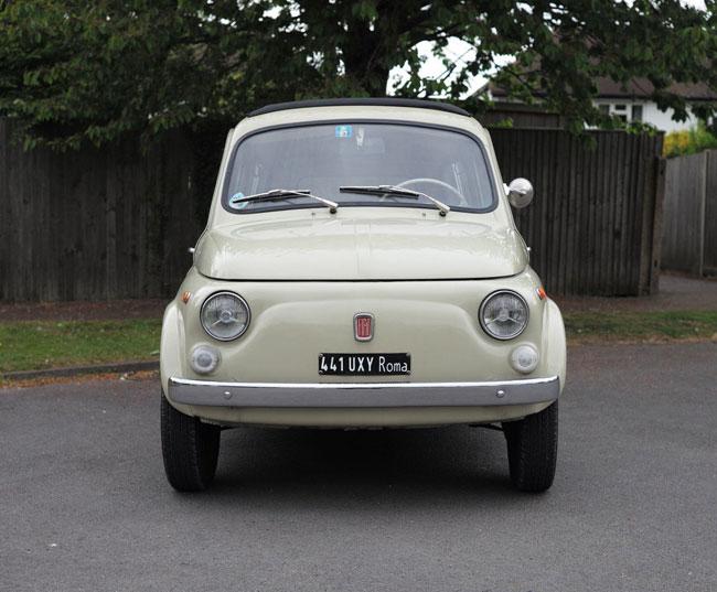 1962 Fiat 500 Giardiniera on eBay