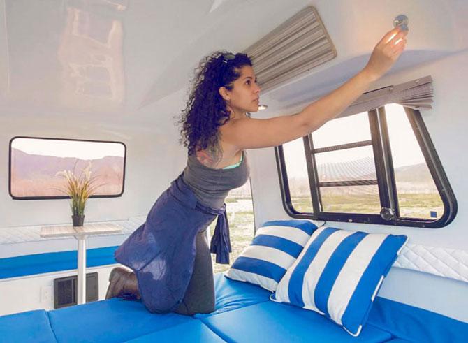 Retro holidays: VW-inspired Happier Camper miniature caravan