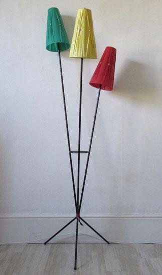 1950s tri-form floor lamp on eBay