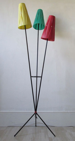 1950s tri-form floor lamp on eBay
