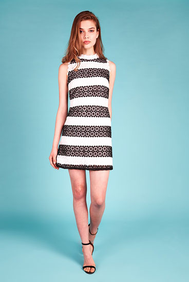 Louche Luxe Rosellen 1960s-style shift dress at Joy The Store