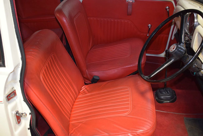 Restored 1969 Morris Minor convertible on eBay
