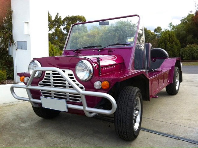 1960s Mini Moke returns as an electric vehicle